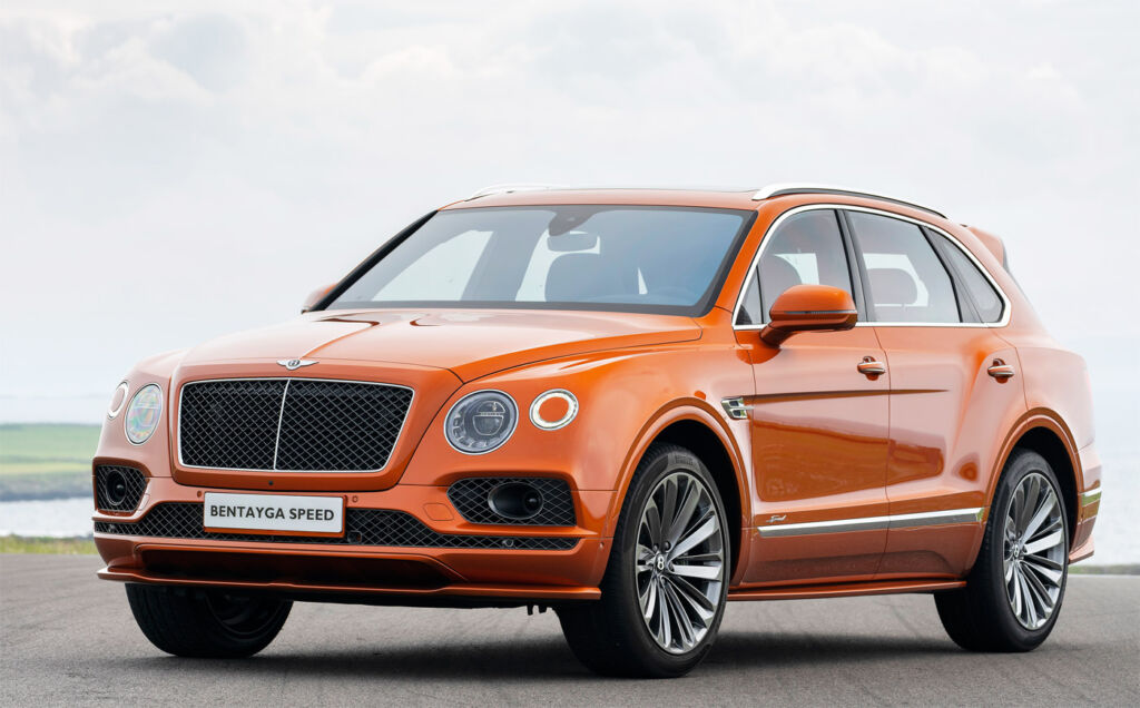 The Bentley Bentayga Speed - Stylish and commanding.