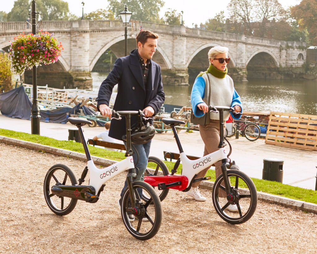 The GS electric bicycle at a glance.