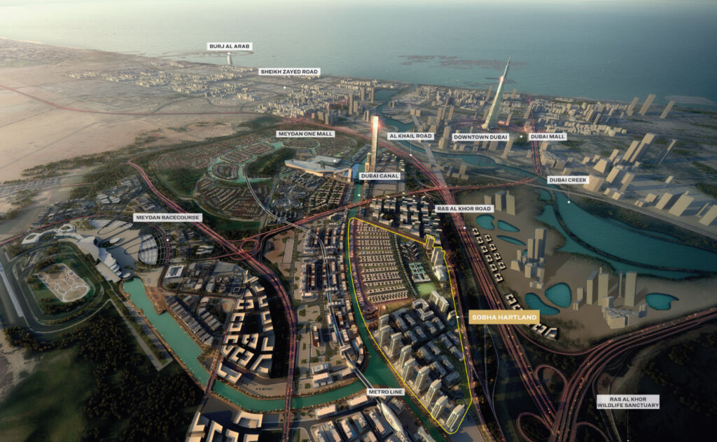Sobha Realty Invites Applications for Dubai's only Luxury Canal-side Villas 5