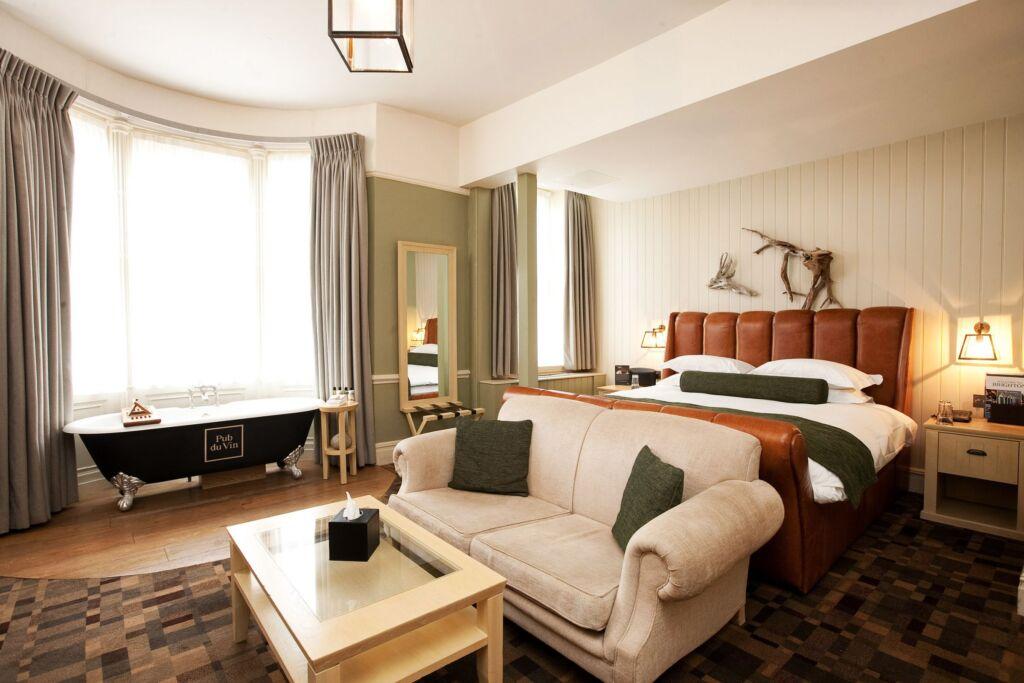 A Junior Suite at Hotel Du Vin.