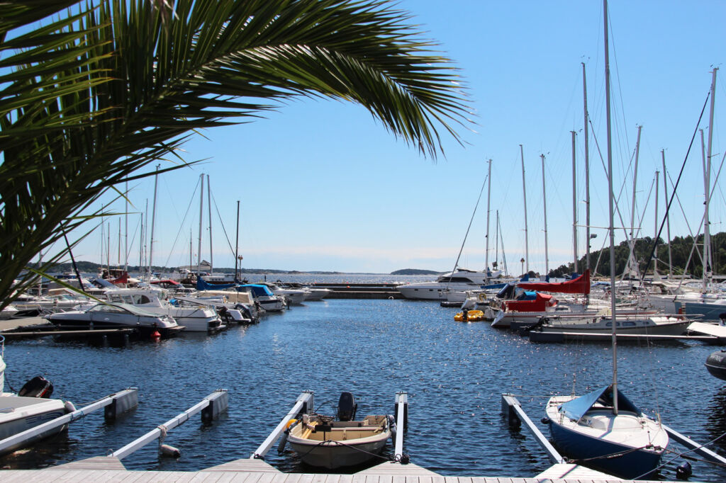 Kristiansand harbour.