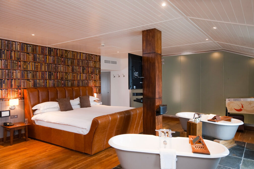 The Loft Suite at Hotel Du Vin, Brighton.