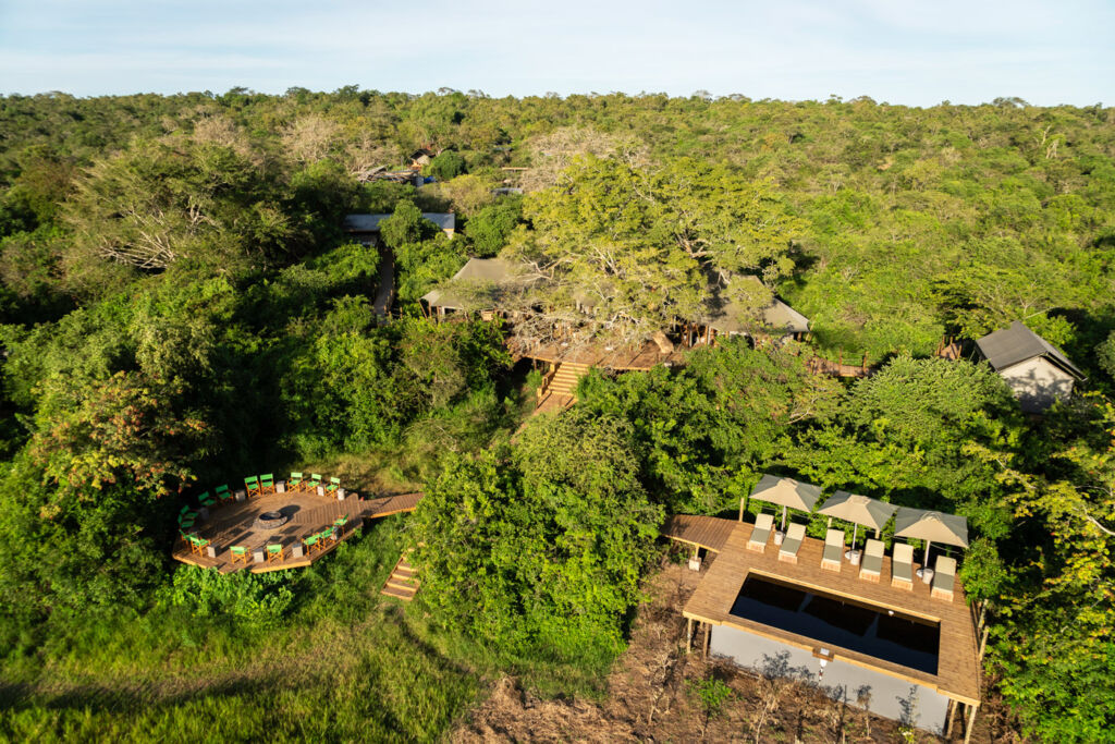 Magashi camp in Rwanda
