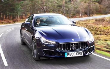 Maserati Ghibli Diesel GranLusso Test Drive