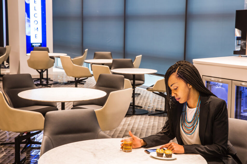 Which Airport Lounge has Reached the 'Lofty' Height of Best in Europe? 7