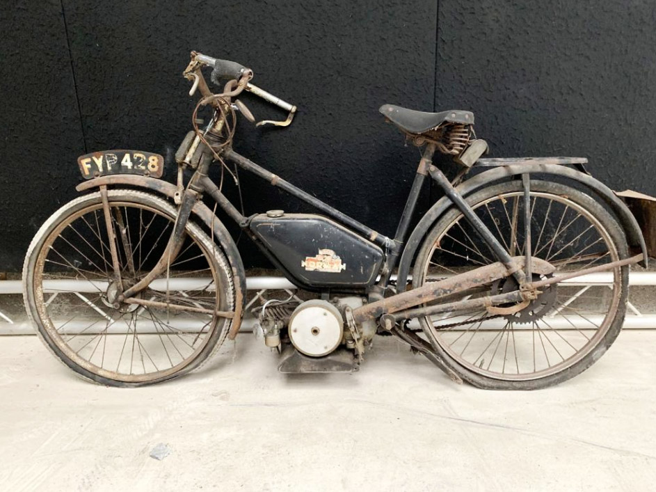 1938 Norman Autocycle with links to the RAF Dambusters Squadron