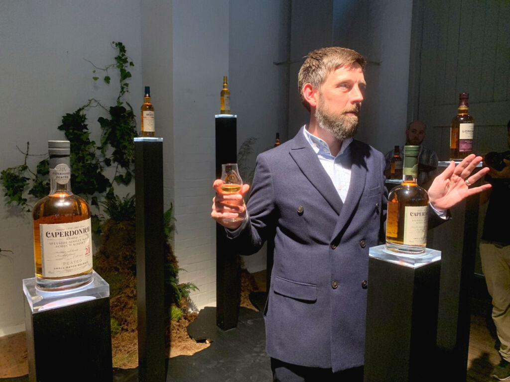 Alex Robertson (Head of Heritage and Education at Chivas Brothers)
