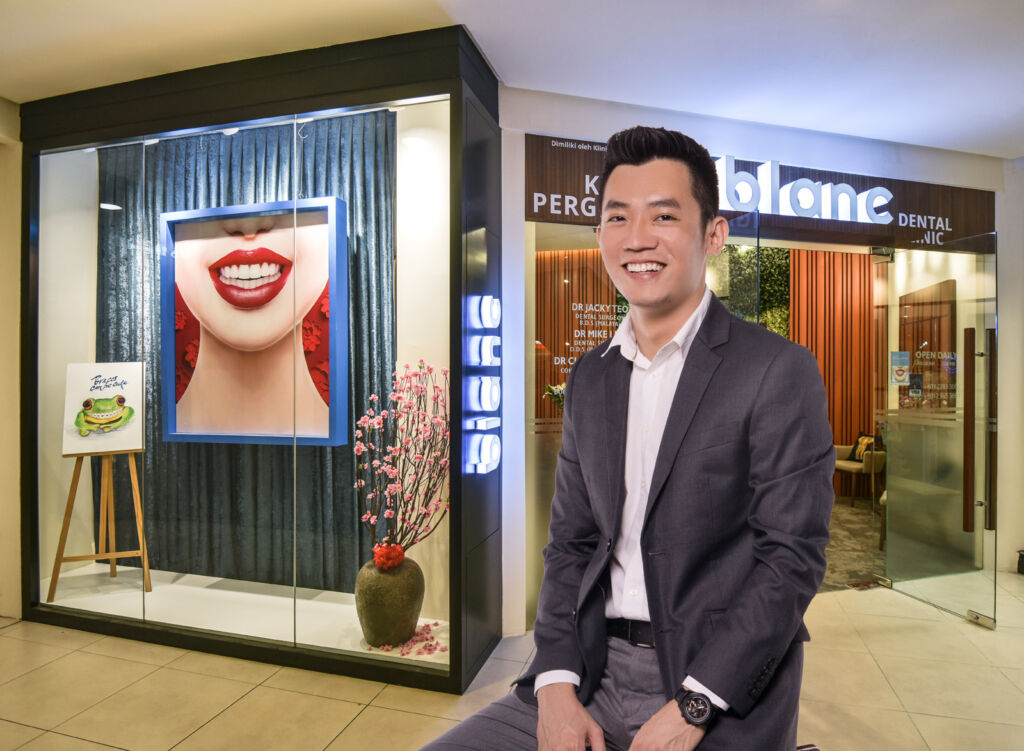 Dr Mike Lim of Blanc Dental Clinic in Kuala Lumpur