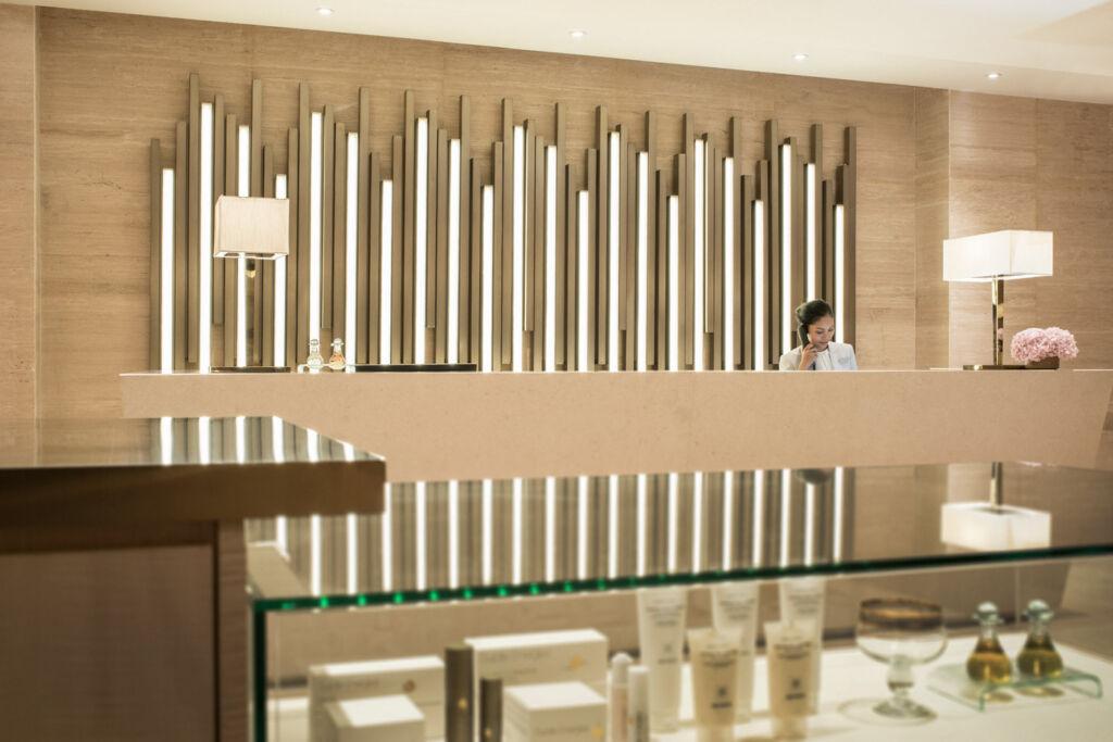 Reception at The Spa at Four Seasons Hotel Kuala Lumpur