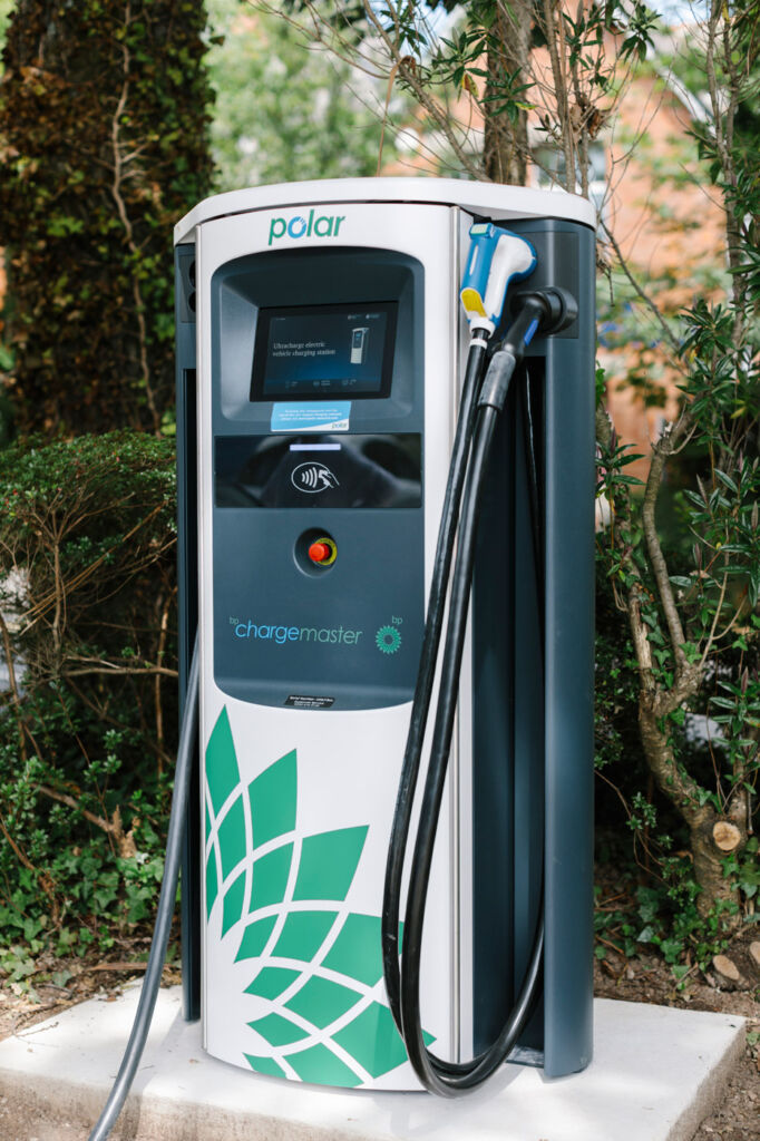 """The Chargemasters """"Next generation"""" rapid charge point at Merchants Manor"""