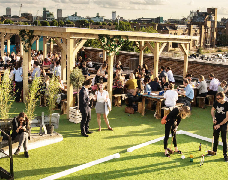 Skylight Rooftop: Cocktails, Croquet And Stunning City Views