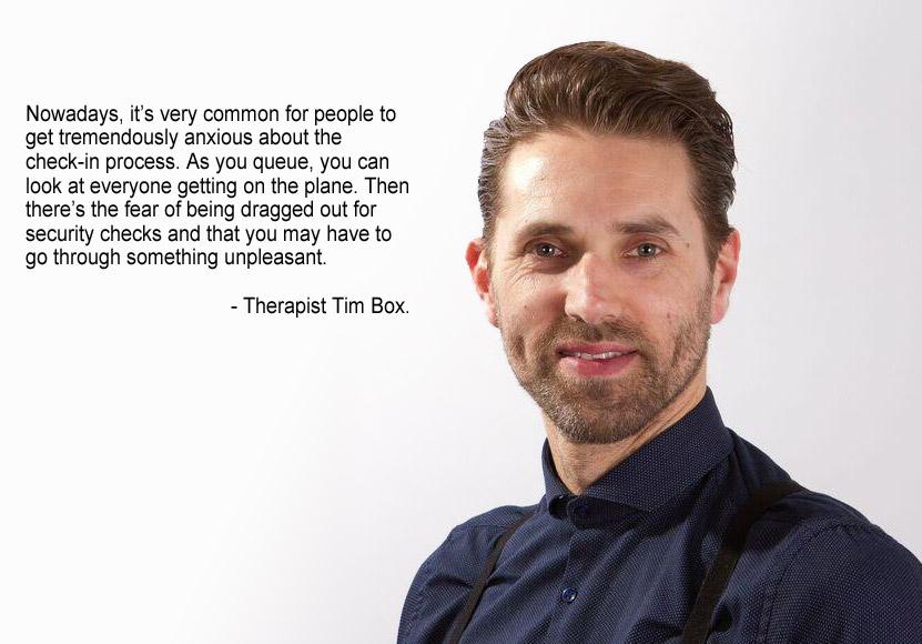Therapist Tim Box