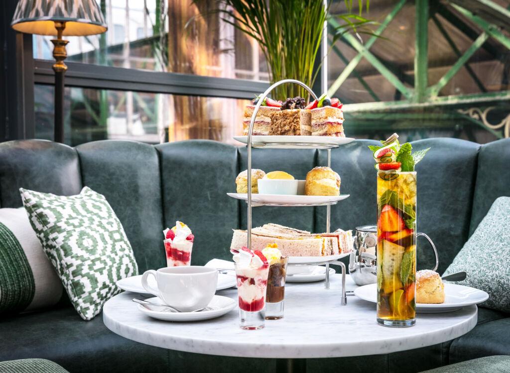 Wimbledon Afternoon Tea at Roast