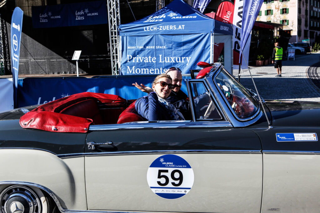 """""""Gold But Never Old"""" - Vintage Cars Conquer Streets For Arlberg's 10th Classic Car Rally 3"""