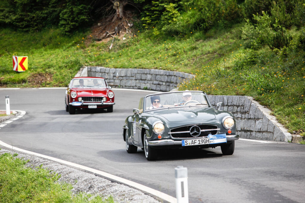 """""""Gold But Never Old"""" - Vintage Cars Conquer Streets For Arlberg's 10th Classic Car Rally 5"""