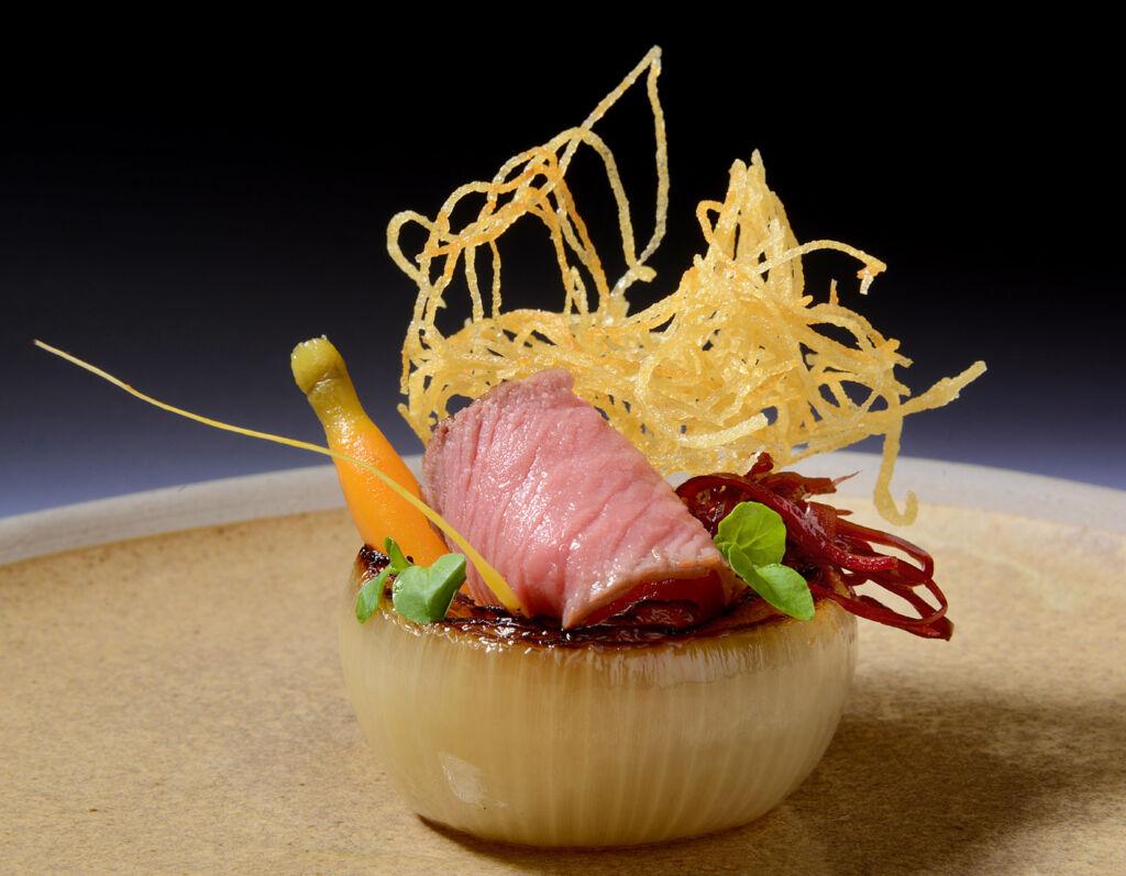 A dish from Nigel Haworth, Chef Ambassador for Northcote.