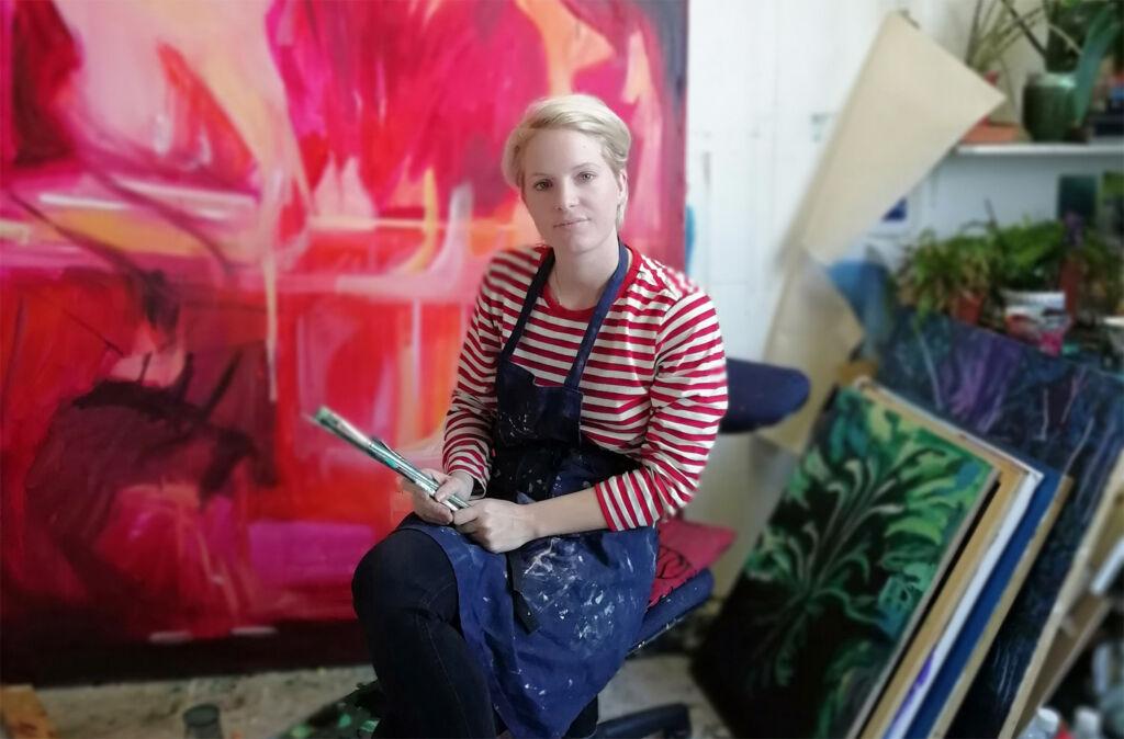 Artist Lucy Smallbone