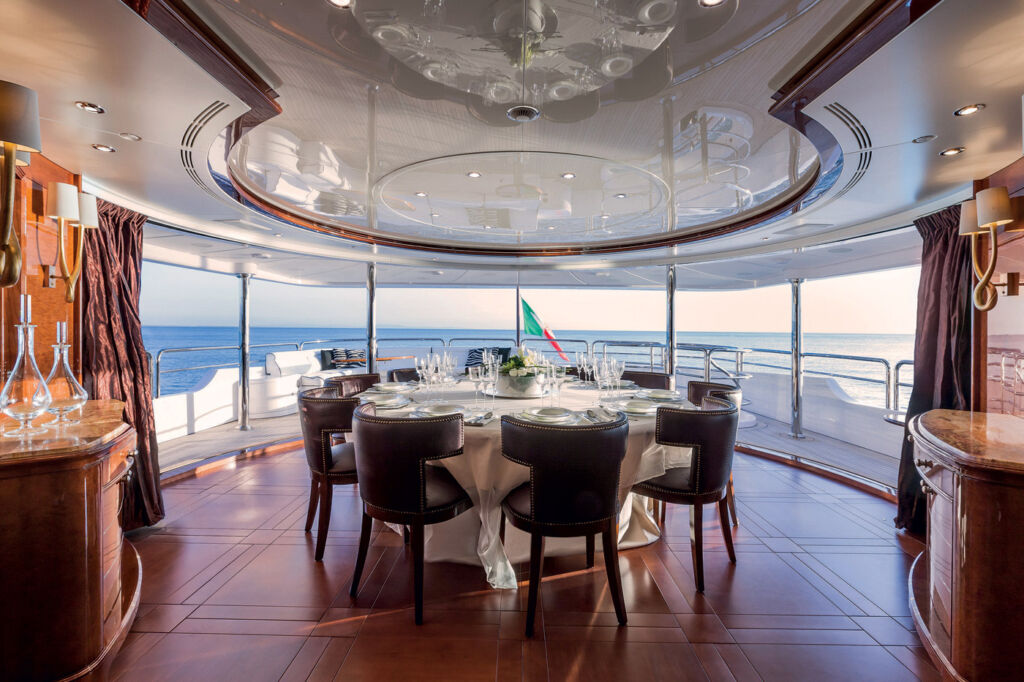 The 145-Foot Superyacht Checkmate Gets a Massive Price Reduction 7