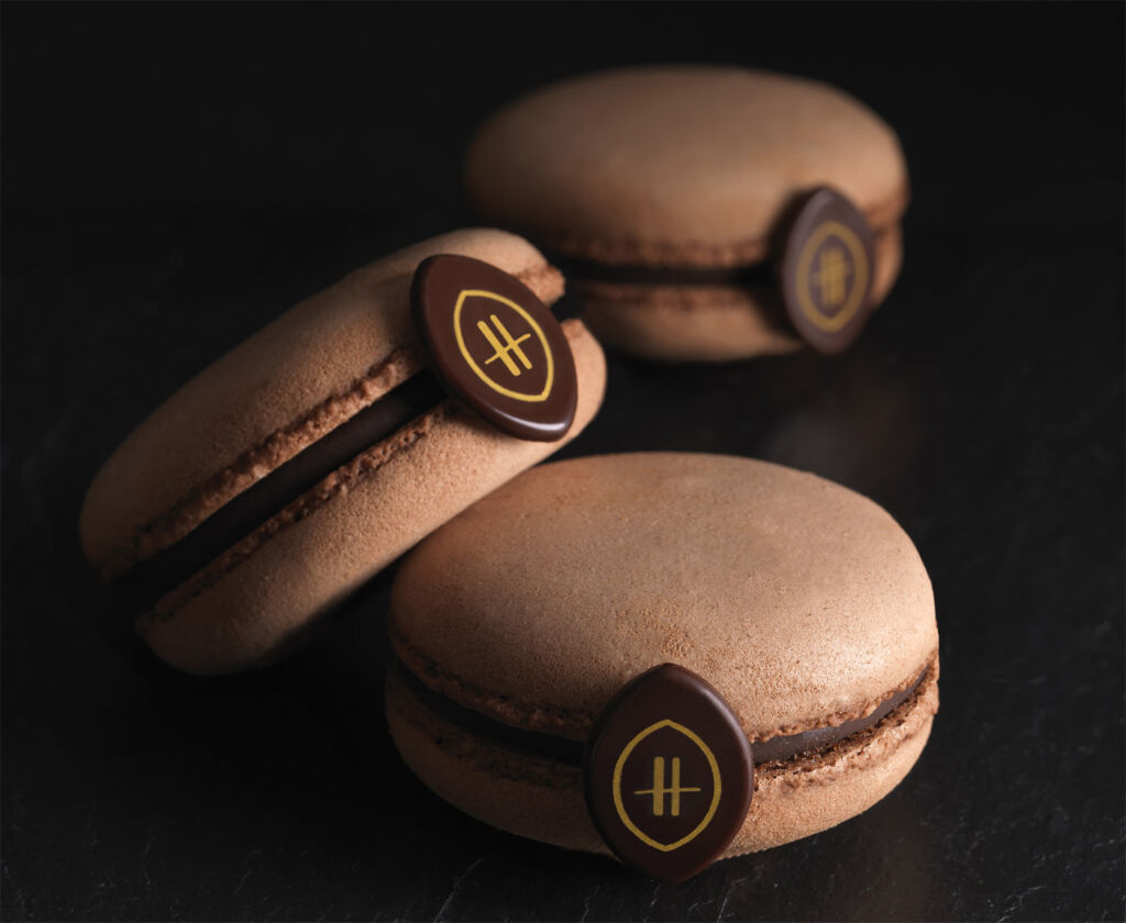 Chocolate Macaroons by Alistair Birt