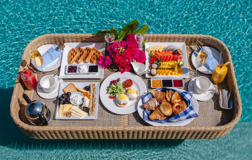 The New Floating Breakfast Concept at the Dusit Thani Maldives 4