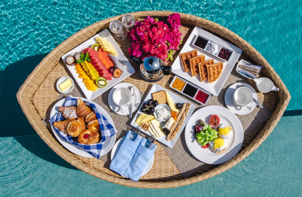 The New Floating Breakfast Concept at the Dusit Thani Maldives 5