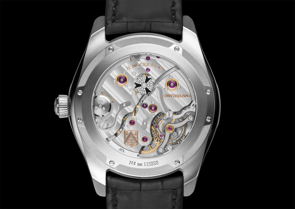 New Perpetual Calendar From H. Moser & Cie Gets a Dual Display Window 6
