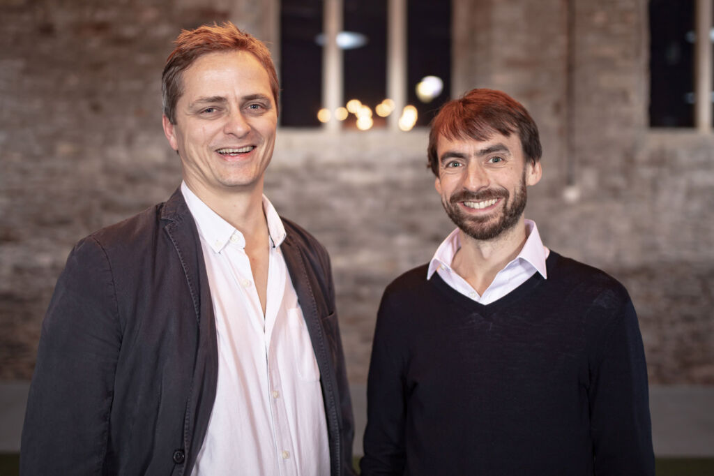 Huw Owen and Tom Stapleton, two of the three TravelLocal co-founders.