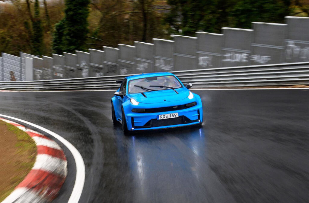 Lynk & Co 03 Cyan Concept at the Nürburgring Nordschleife