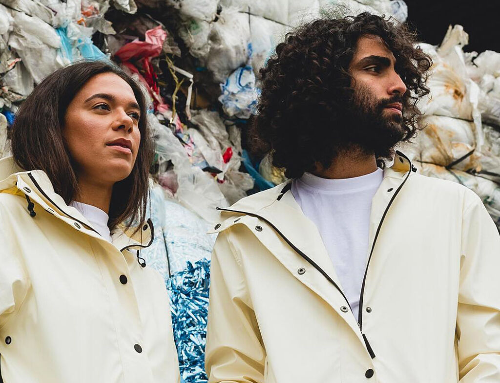Maium Recycled Raincoats