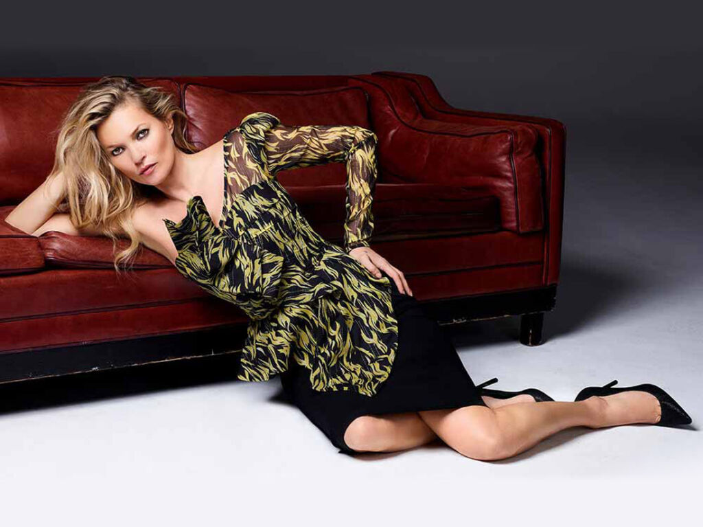 Selected by Kate Moss at Pure London.