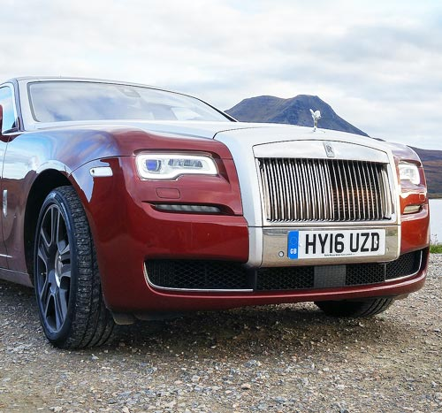 Luxurious Magazine embarks on a luxury road trip in a Rolls Royce