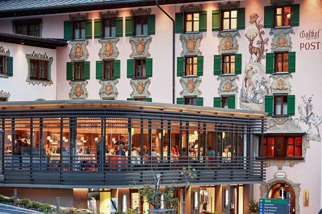 The Post Lech Hotel is know for it's high-quality cuisine