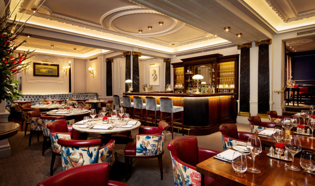 Inside the Game Bird at the Stafford London.