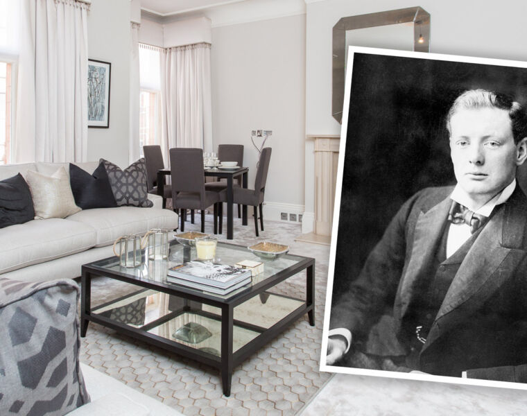 Winston Churchill's First Bachelor Pad In Mayfair Up For Rent 23