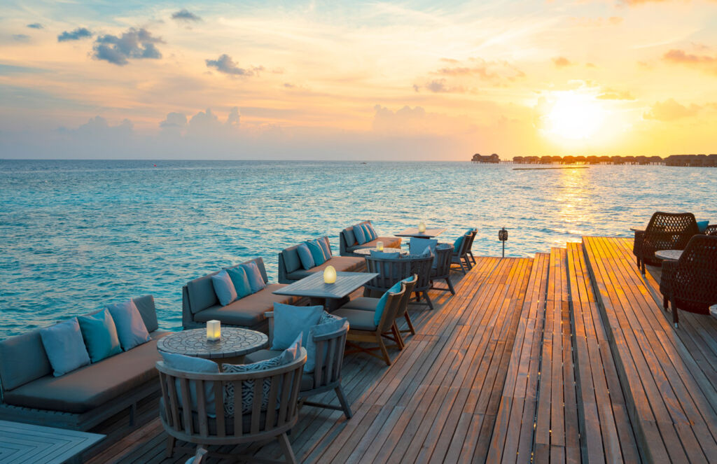 """From """"Bean-To-Bar Chocolate Masterclasses"""" and """"Cacao Cocktails"""" overlooking the Maldivian sunset"""