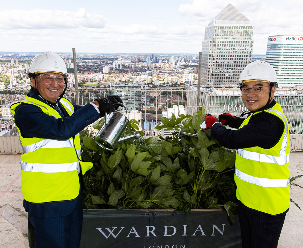 Wardian London On-Target to Bring Some Much Needed Greenery to London