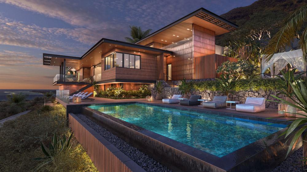 Legend Hill resort in Black River, West Coast of Mauritius