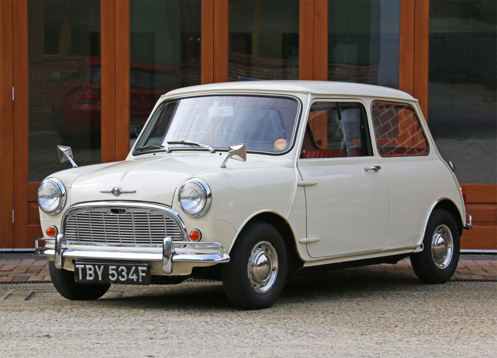 1968 Mk1 Morris Minor-Mini Super De Luxe
