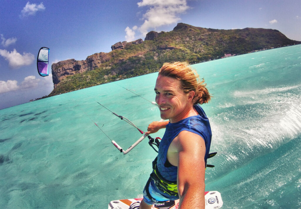Alexandre Caizergues Professional Kiteboarder