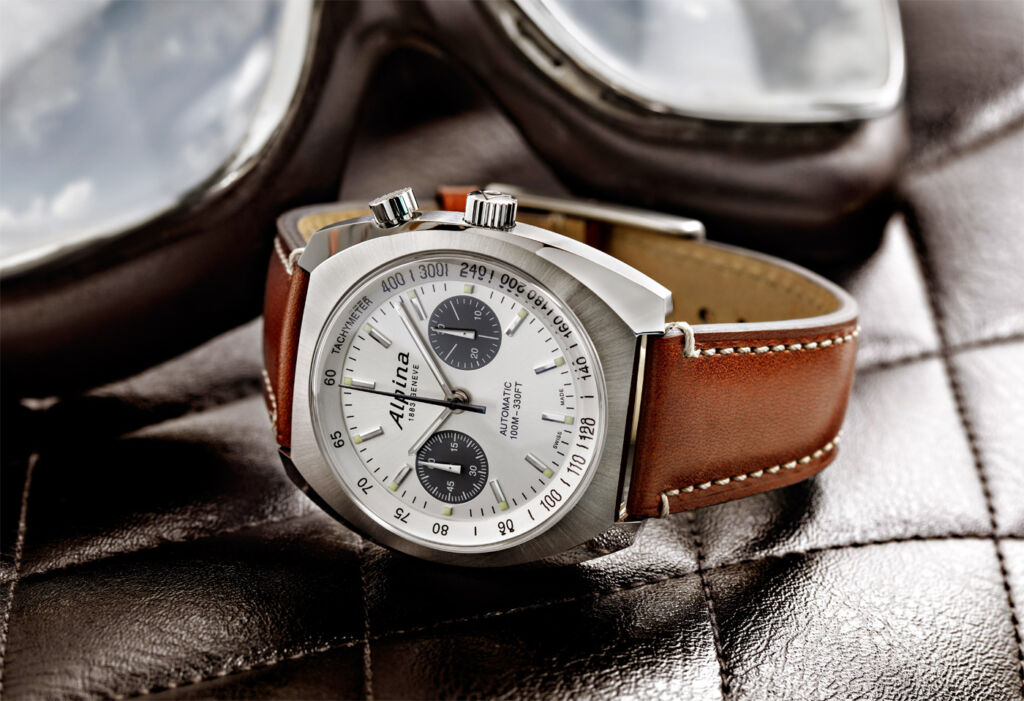 Alpina's Startimer Pilot Heritage Collection Welcomes First Chronograph 3