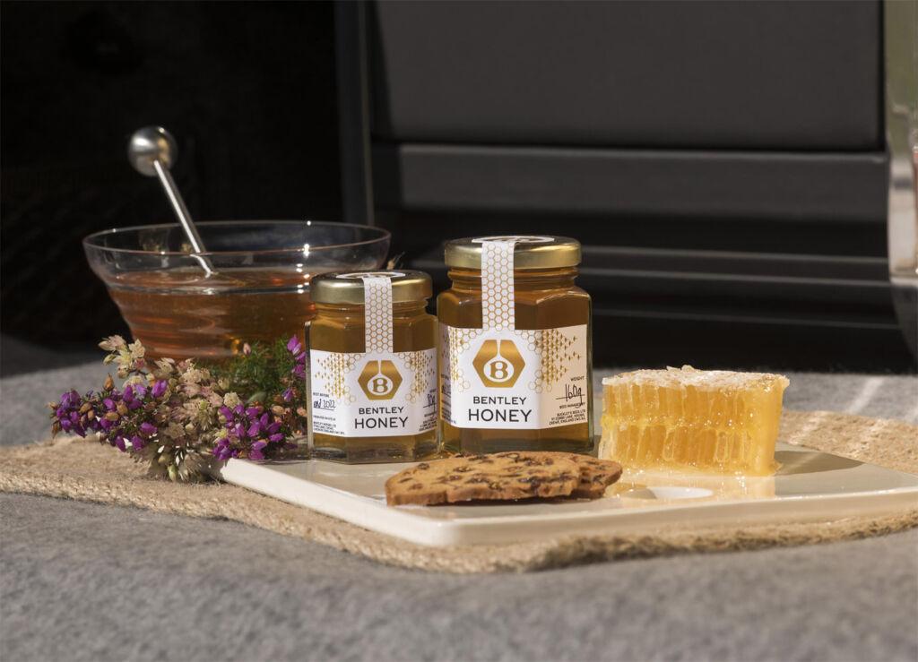 Bentley Motors' Flying Bees have Delivered their First Honey Harvest 4