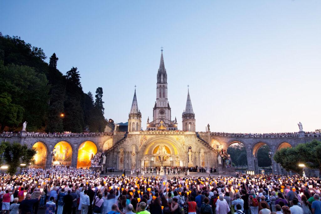 Catholic pilgrimage to Lourdes