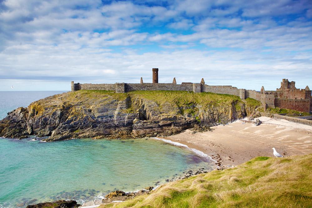 Folly on the coast of the Isle of Man