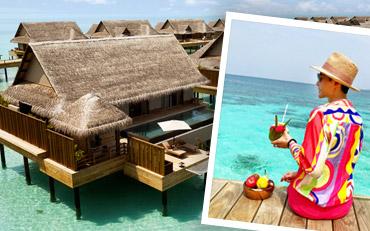 We find our Joie de Vivre at Joali Maldives