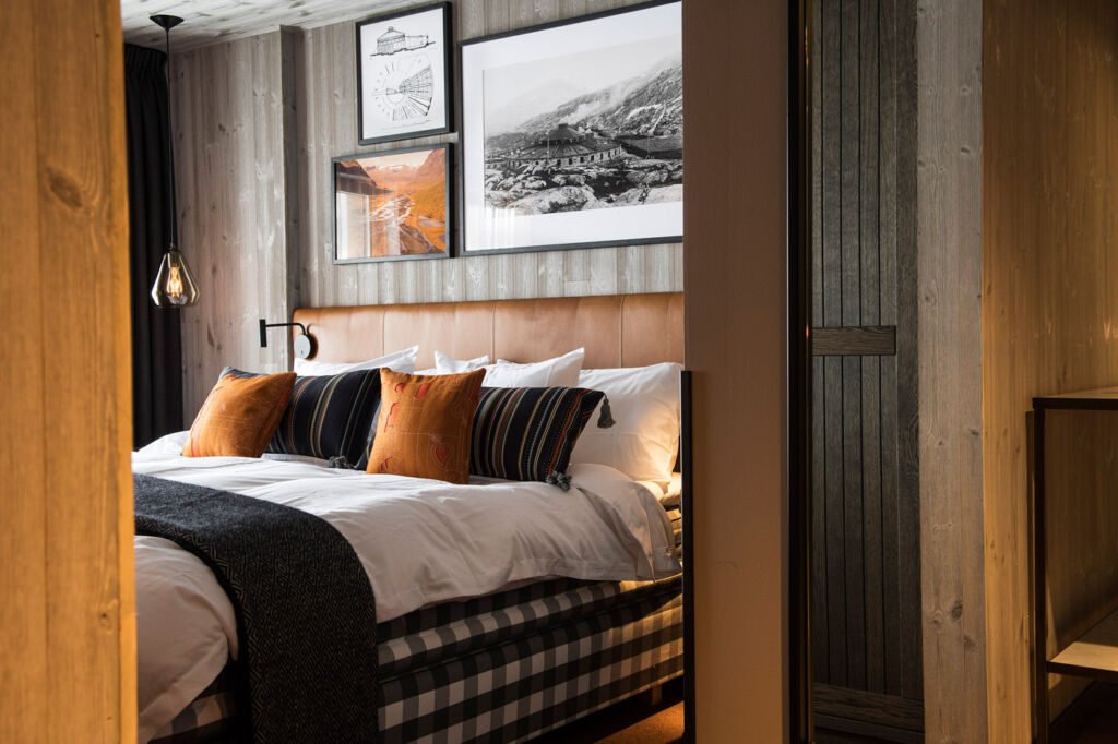 Hastens Bed at the Villa