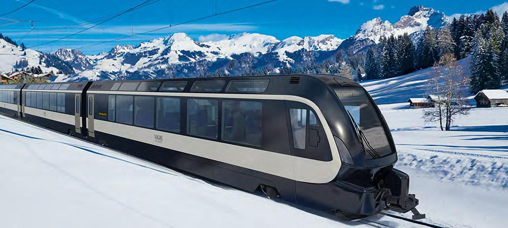 Switzerland's GoldenPass Express To Use The Pininfarina-Designed Wonder Trains in 2020 2