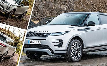 We Road Test the Latest Range Rover Evoque
