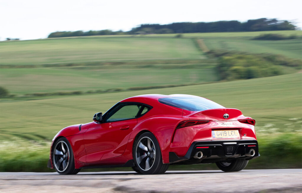 Luxurious Magazine Road Tests the Toyota GR Supra 3.0L Pro in North Yorkshire 6