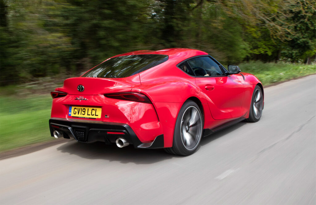 Luxurious Magazine Road Tests the Toyota GR Supra 3.0L Pro in North Yorkshire 3