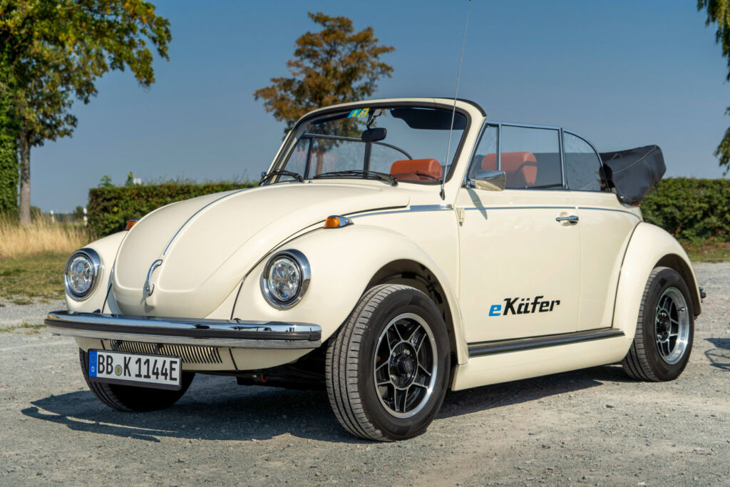 eClassics and Volkswagen Group Components Put the 'E' into a Classic Beetle